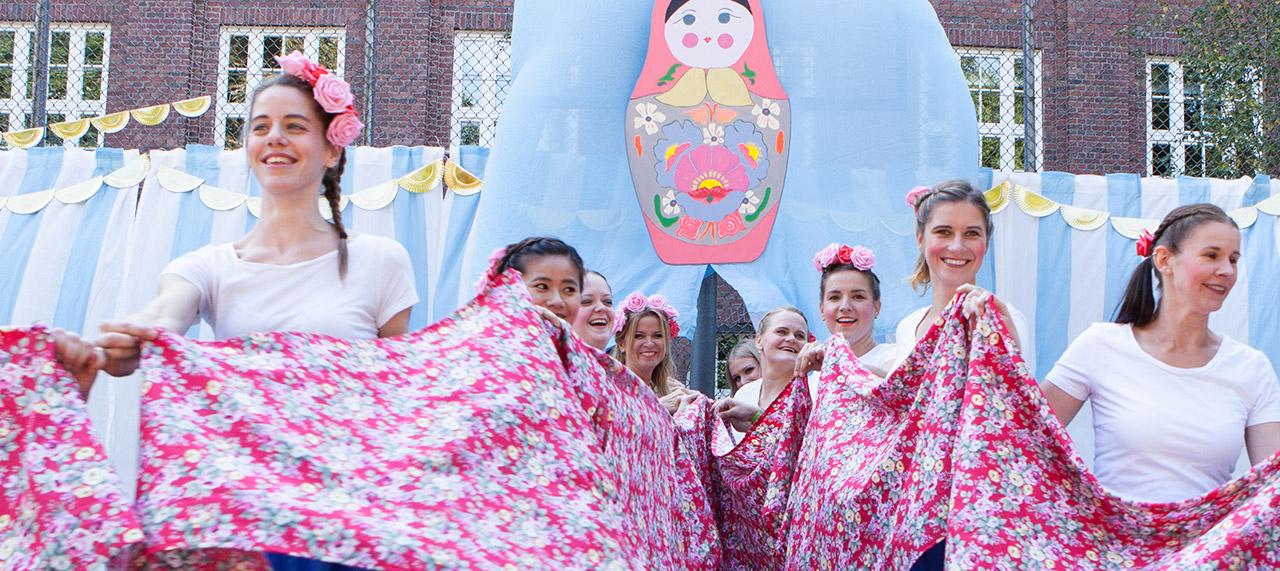 Sommerfest 2017 Zirkus Russland